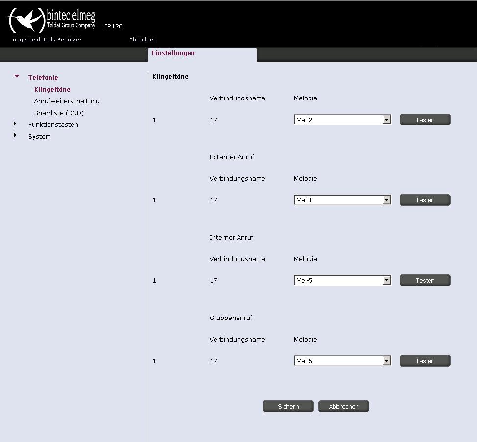 elmeg-ip-120-klingeltöne