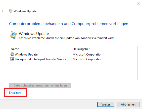 Windows Update DIagnostic Tools