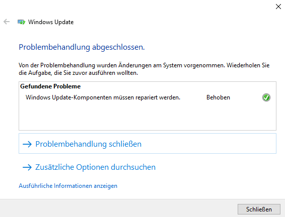Windows Update Diagnostic Tool